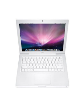 Apple A1181 Macbook 13.3 Laptop Intel C2D 2.4GHz 2GB 160GB DVDRW OSX10.5 MB403LL