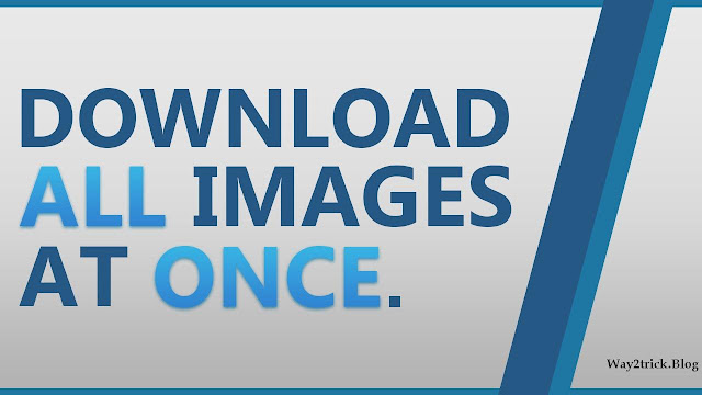 How to Download All Images on a Web Page at Once