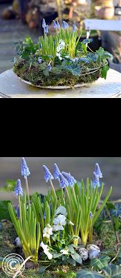 DIY Ostern und Frühling Mooskranz Pinterest Pin