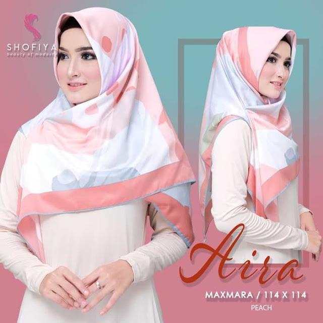 Jilbab Maxmara Aira Modis Terbaru By Shofia Hijab