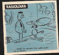 Raskalana, Tio Vivo 1ª nº 16