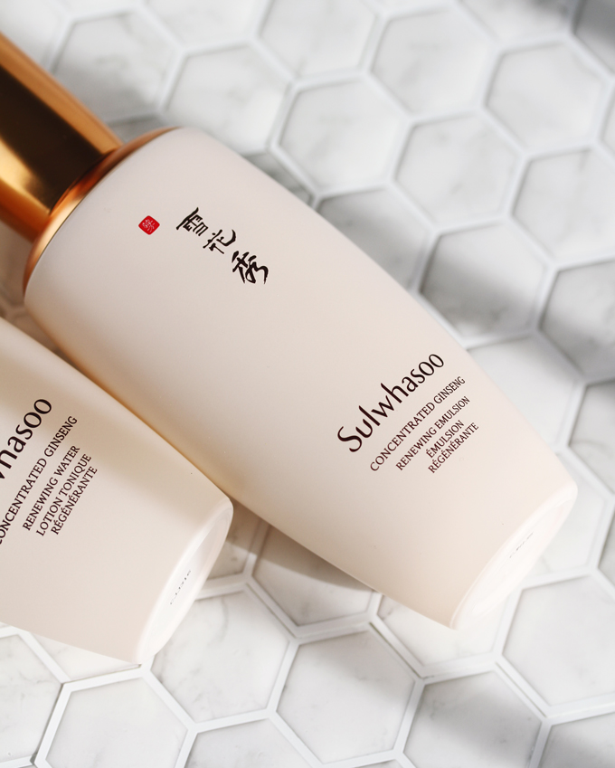 Sulwhasoo Concentrated Ginseng Renewing Emulsion Review, Sulwhasoo,Sulwhasoo Skincare,  Sulwhasoo Review,
