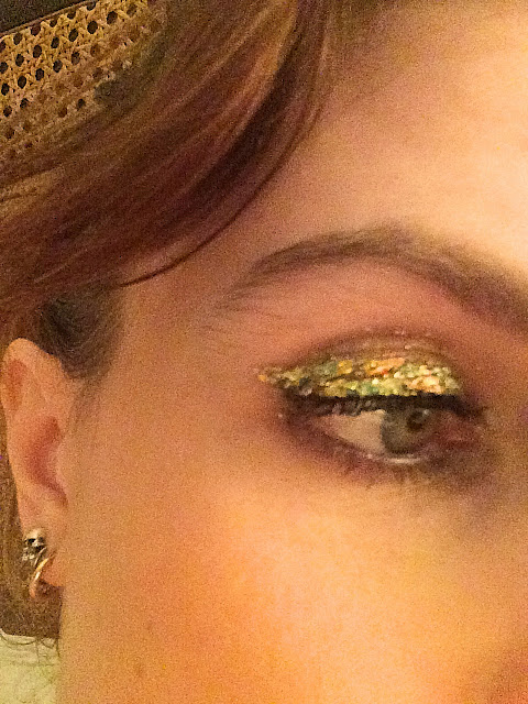 JT Makeup Studio Peacock Foil Eye Close Up
