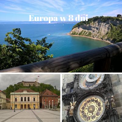 8-dniowy trip po południowej Europie