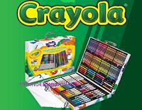 Logo Barbie Loves Crayola: vinci 122 Valigette Arcobaleno Crayola