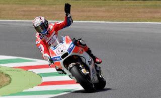 Dovizioso Juara MotoGP Mugello Italia 2017