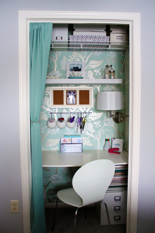 Remodelaholic Closet Office Inspiration Galore
