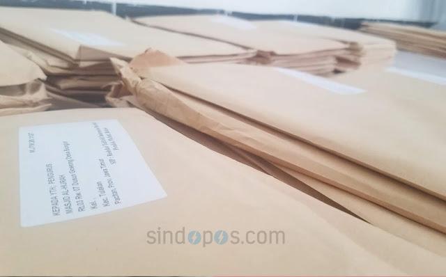 994 Paket Tabloid Indonesia Barokah Dihentikan Pendistribusiannya oleh Bawaslu Pacitan.