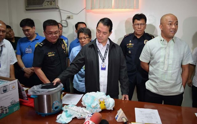 BREAKING: TWO EMPLOYEES OF ANTONIO TRILLANES ARRESTED AT NINOY AIRPORT WITH DRUGS