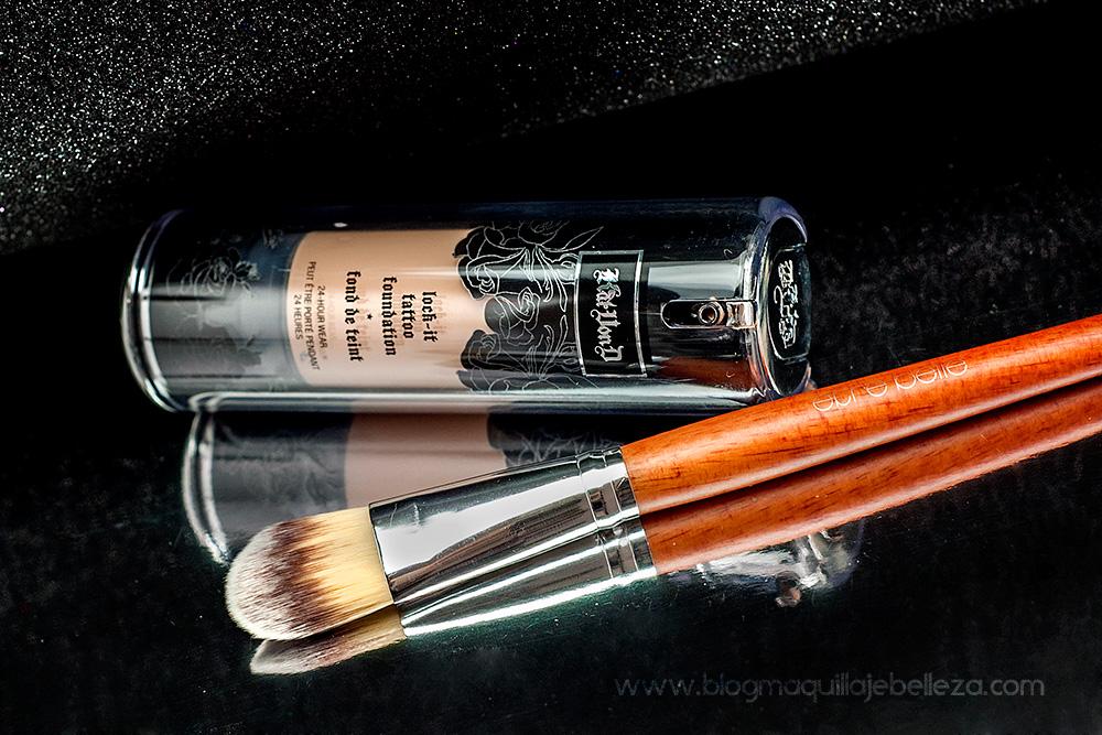 Brocha de maquillaje profesional para fondo de maquillaje | être belle