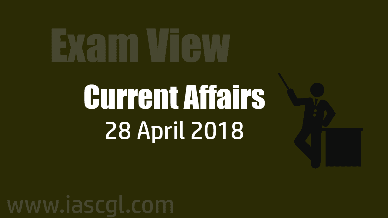 Current Affair 28 April 2018