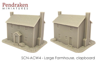 SCN-ACW4    Large farmhouse, clapboard