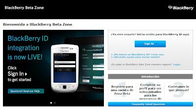 Anteriormente ya había sido lanzada está aplicación dentro de BlackBerry Beta Zone para BlackBerry 10, El día de hoy la aplicación de BlackBerry Beta Zone ha sido publicada en BlackBerry World. La aplicación cuando se combina con una cuenta de BlackBerry Beta Zone, te permite descargar las versiones beta de las aplicaciones publicadas en BlackBerry Beta Zone. Una función incluida dentro de la aplicación es que también se puede crear una cuenta de BlackBerry Beta Zone en la misma aplicación que se vincula directamente a tu BlackBerry ID. Si ya instalaste está aplicación cuando estaba disponible en Beta Zone es