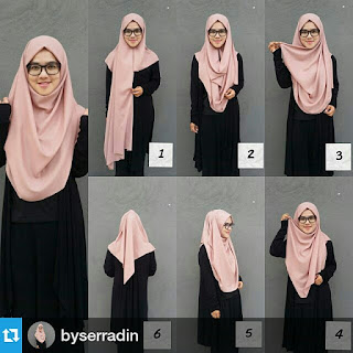 Buat Kamu yang Berkacamata, Tutorial Hijab Berikut ini Perlu Kamu Coba