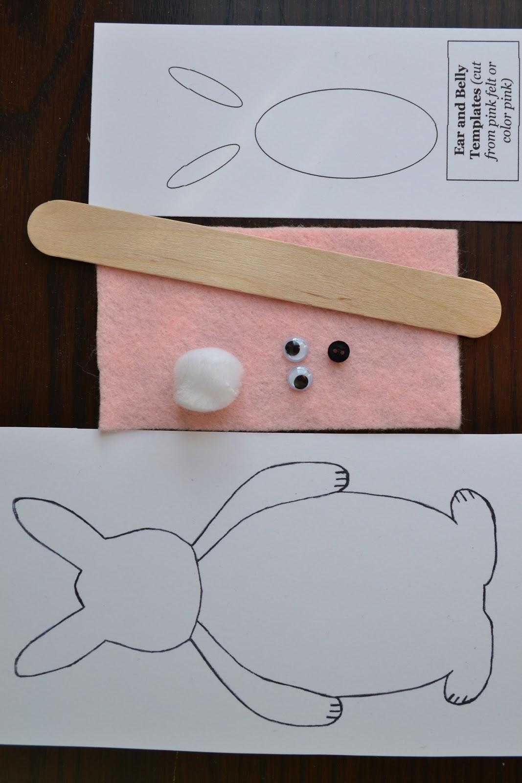 East Coast Mommy: ECM Kid\'s Craft Club - #1 {Bunny Puppet Tutorial}