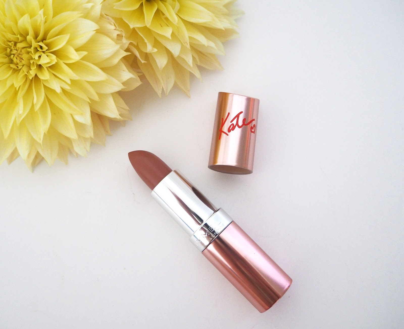 Rimmel Kate Lipstick in My Nude, Nude Lipstick, Lipstick Swatches, Loves List: August, Katie Kirk Loves