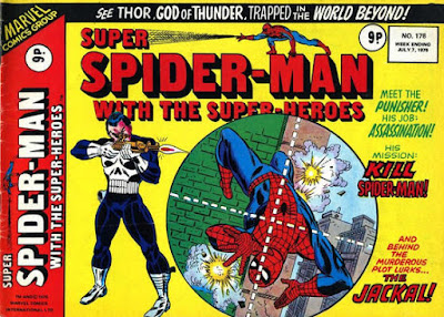 Super Spider-Man with the Super-Heroes #178, the Punisher