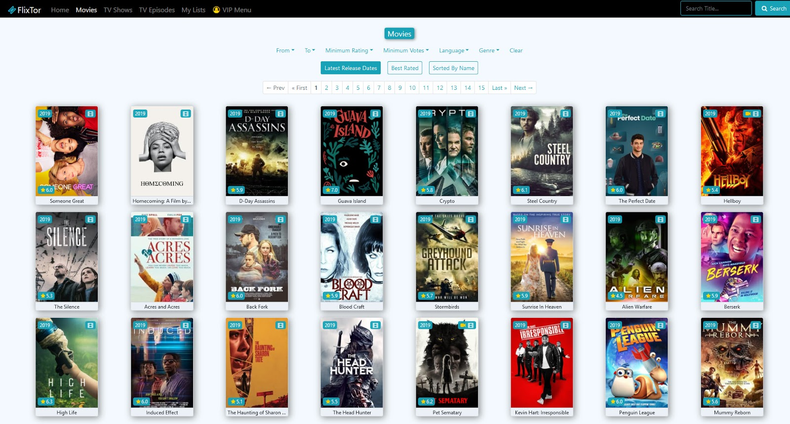 free streaming of movies and tv shows on flixtor