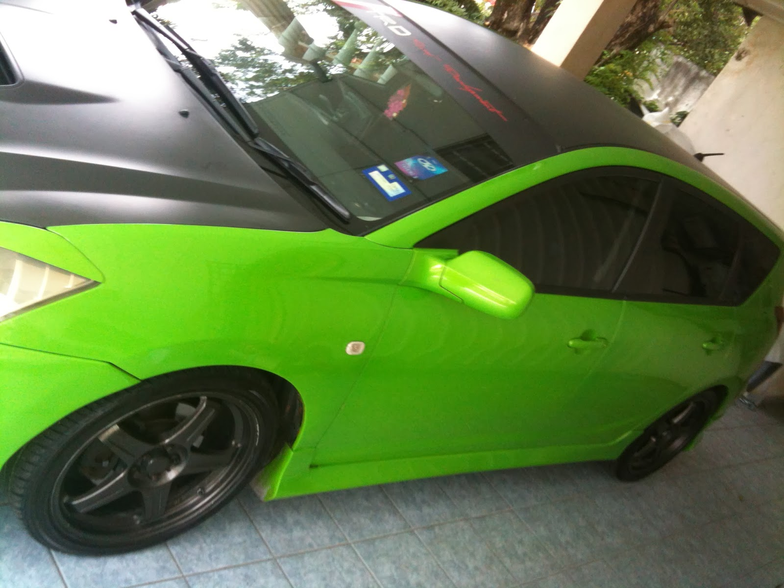 2003/2008 TOYOTA CALDINA GT4 LIMITED EDITION MANUAL TRANSMISSION FOR  CONTINUE LOAN - MONTHLY RM1200