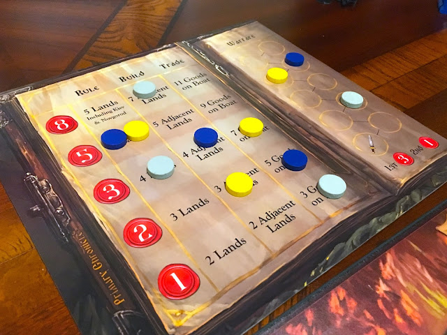 Rurik: Dawn of Kiev Board Game by PieceKeeper Games Claim to the Throne Board