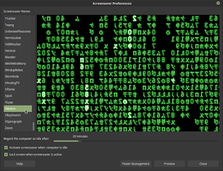 Setting Screen Saver di Linux Mint