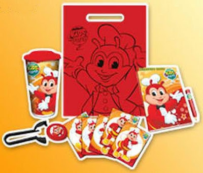 Jollibee party package - My Bestfriend Jollibee loot bags