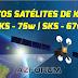 Novos Satélites de keys (SKS) 75w e 67w