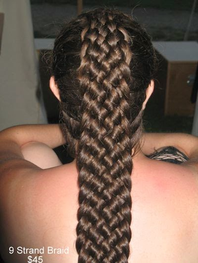 9 Strand Braid Video Tutorials The Haircut Web