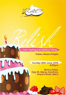 RELISH: Cake Tasting and Exhibition Party