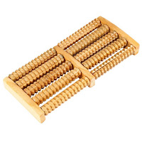Body Stress Acupressure Feet Care With Wooden Roller Massager