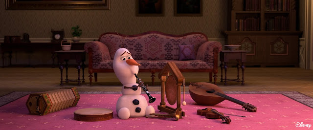 "#DisneyMagicMoments, At Home With Olaf - ""Music Time"", Disney, Frozen, Frozen 2"