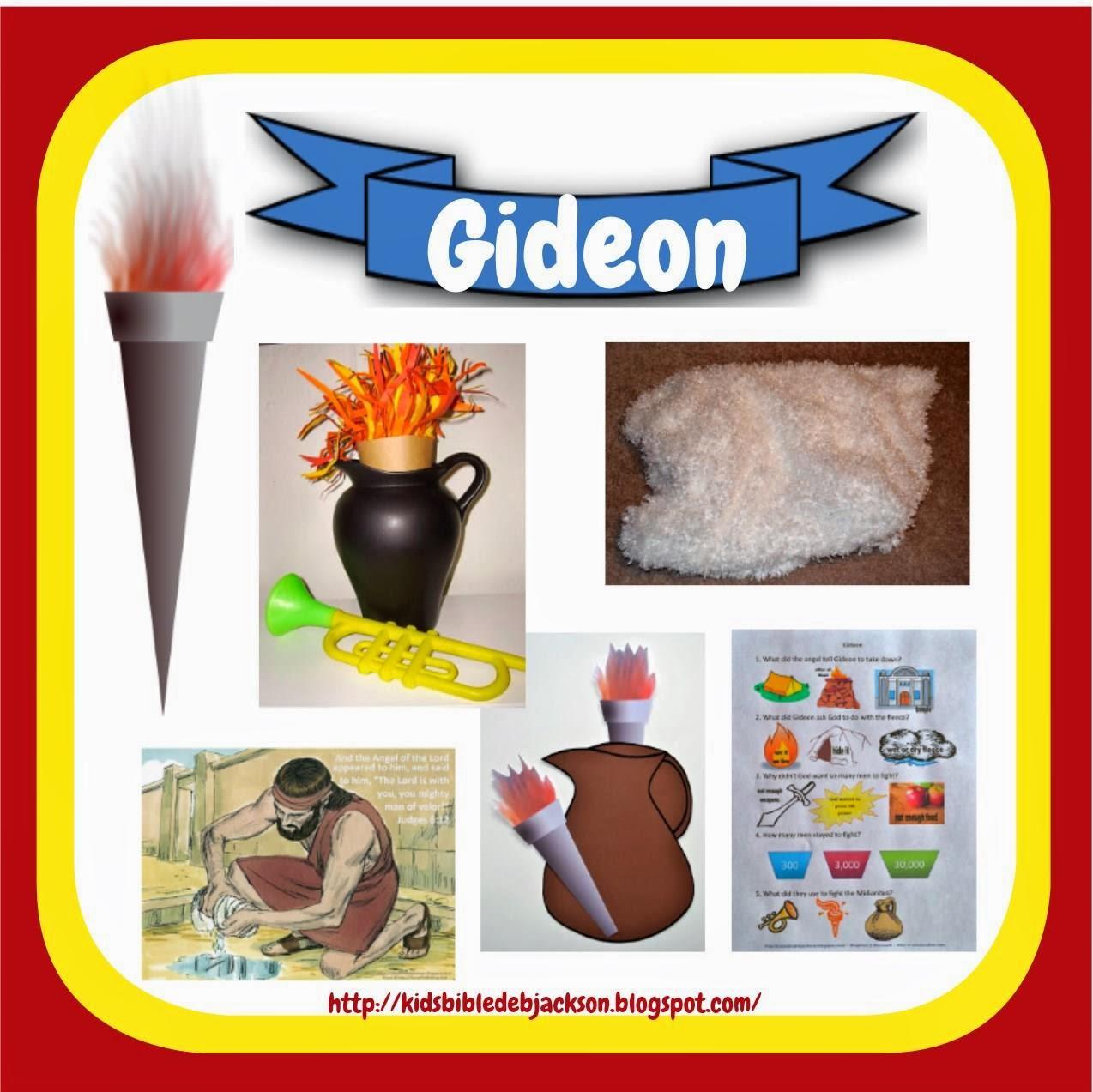 Bible Fun For Kids Gideon