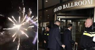 بالفيديو - جماهير أياكس تهاجم لاعبى ريال مدريد فجرًا فى فندق الإقامة