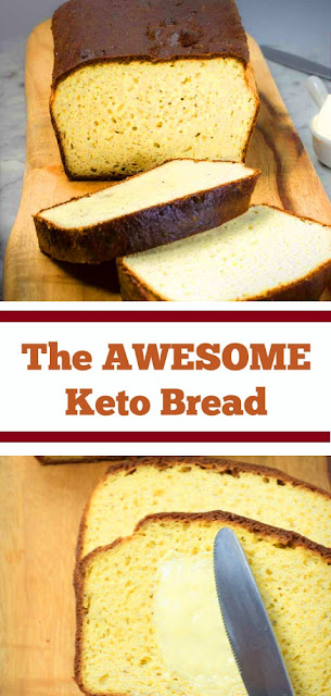 The AWESOME Keto Bread Recipe #keto #ketobread #bread #ketobreakfast #awesome