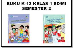 Buku K13 Revisi 2017 Kelas 1 SD/MI Semester 2 - Guru Nusantara