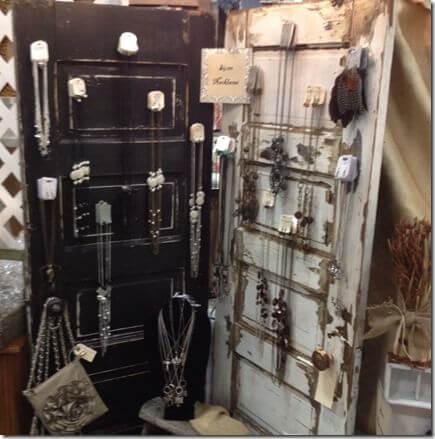 15 Brilliant DIY Ways To Upcycle Your Door - Jewelry Organizer