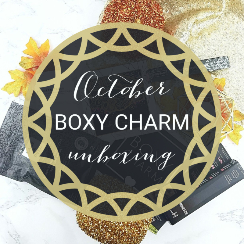 My Boxycharm for October Unboxing