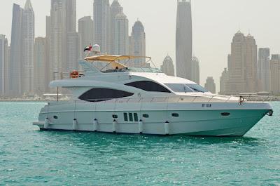 Rent a boat in Dubai