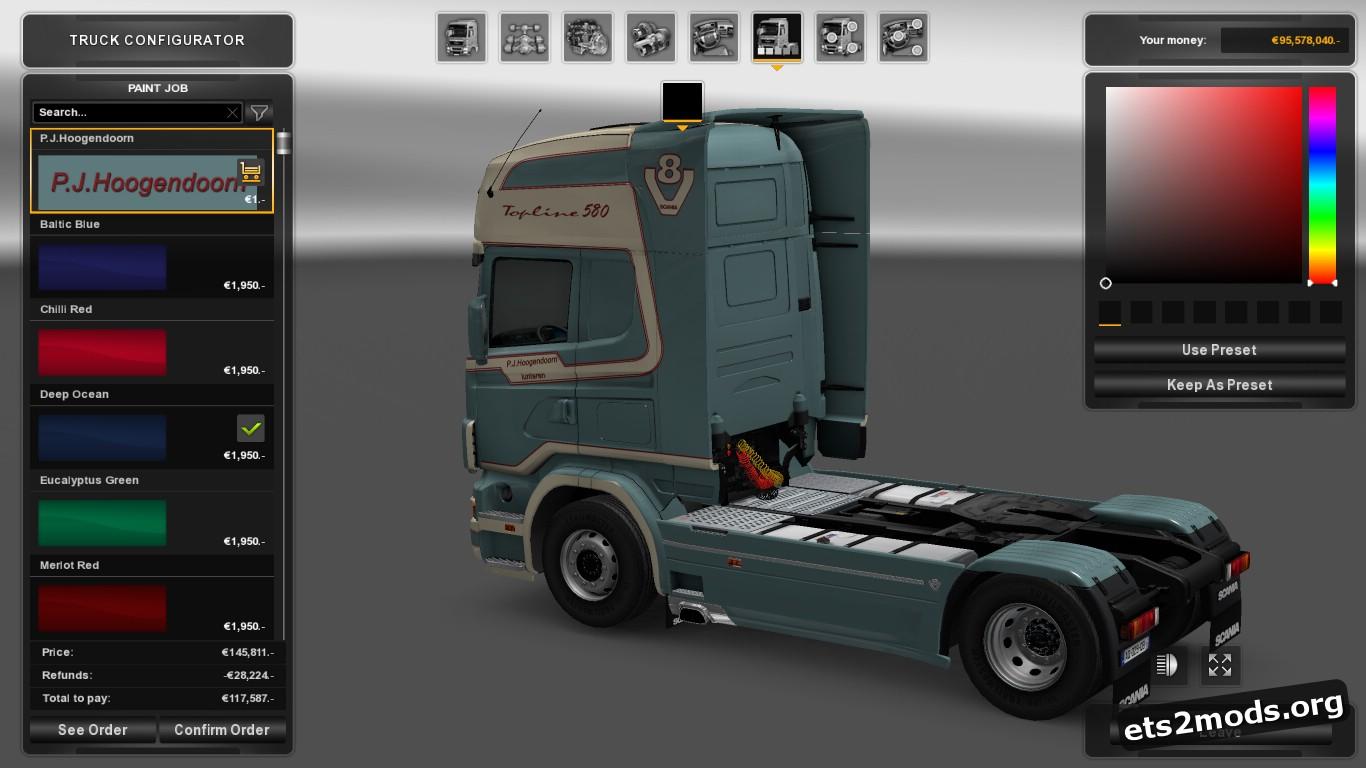 P.J.Hoogendoorn Skin for Scania 4 Series