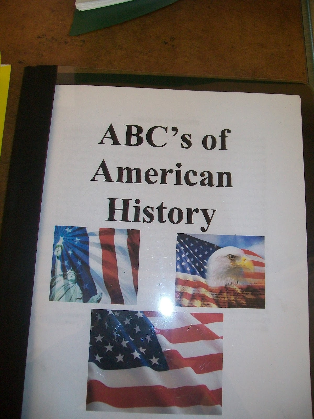United States History Abc Books