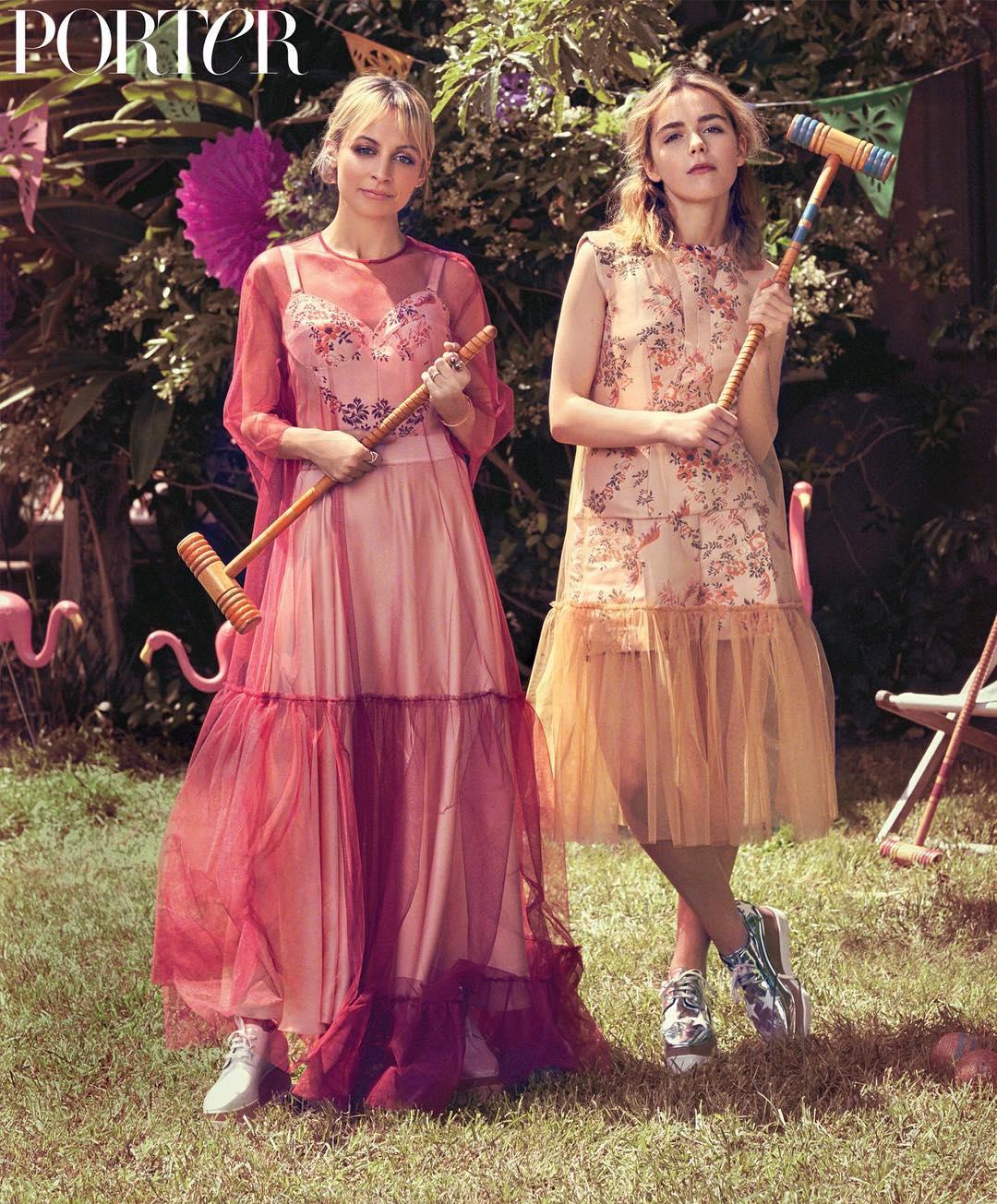 Nicole Richie Vintage Wedding Dresses