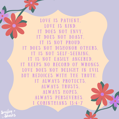 Love is, Bible Verse