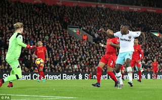 Liverpool vs West Ham United 2-2 Video Gol & Highlights