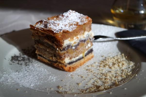 slovénie spécialités culinaires Prekmurska gibanica dessert