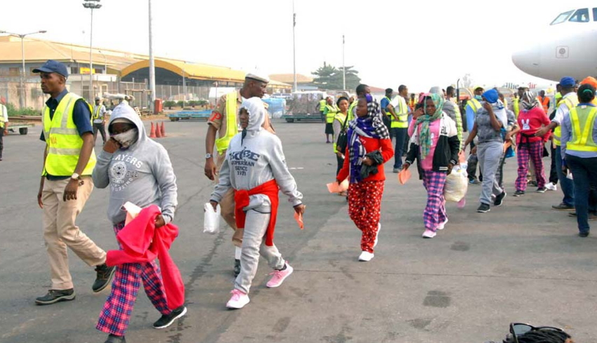 253 Nigerians Voluntary Returnees