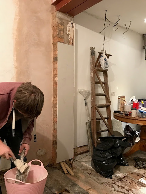 diy plasterboarding