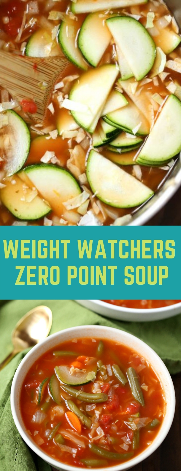 Weight Watchers Zero Point Soup