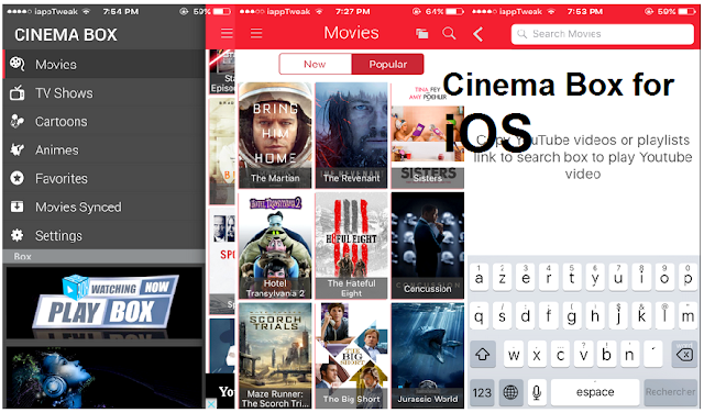 Cinema Box for iOS/iPhone/iPad