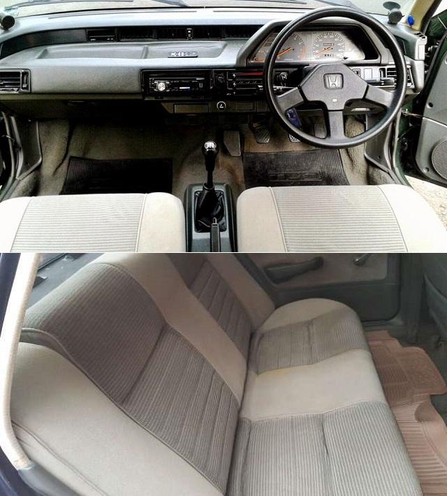 Honda Civic Wonder 4-door Sedan 1987