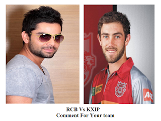 who are playing in punjab vs bangalore match